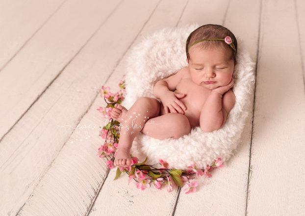 Long island newborn photographer baby clara